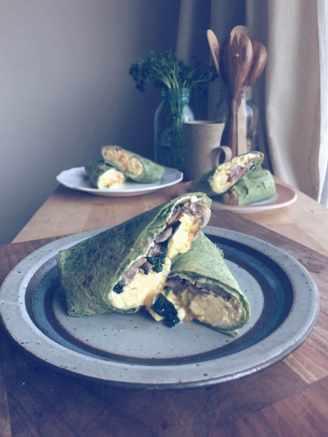 breakfast wraps - dezthebakist.com