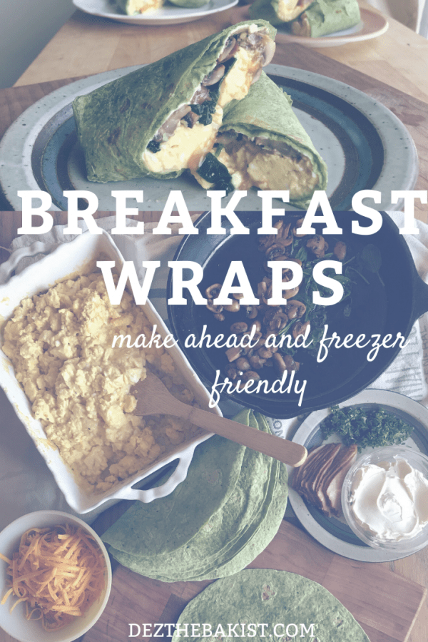 Breakfast wraps are amazing. Like its basically tacos for breakfast. The yummy scrambled eggs, melty cheese and so many different fillings to add you will never want for variety.