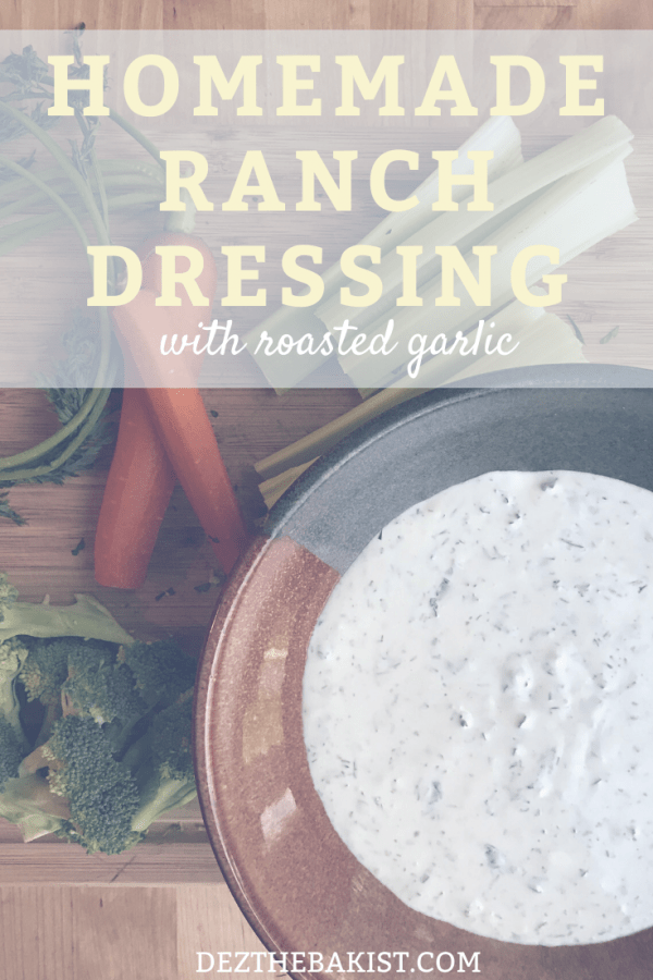 Once you have homemade ranch dressing, you never want to buy it again. There is something so satisfying about making your own and knowing what all is in your dressings.
