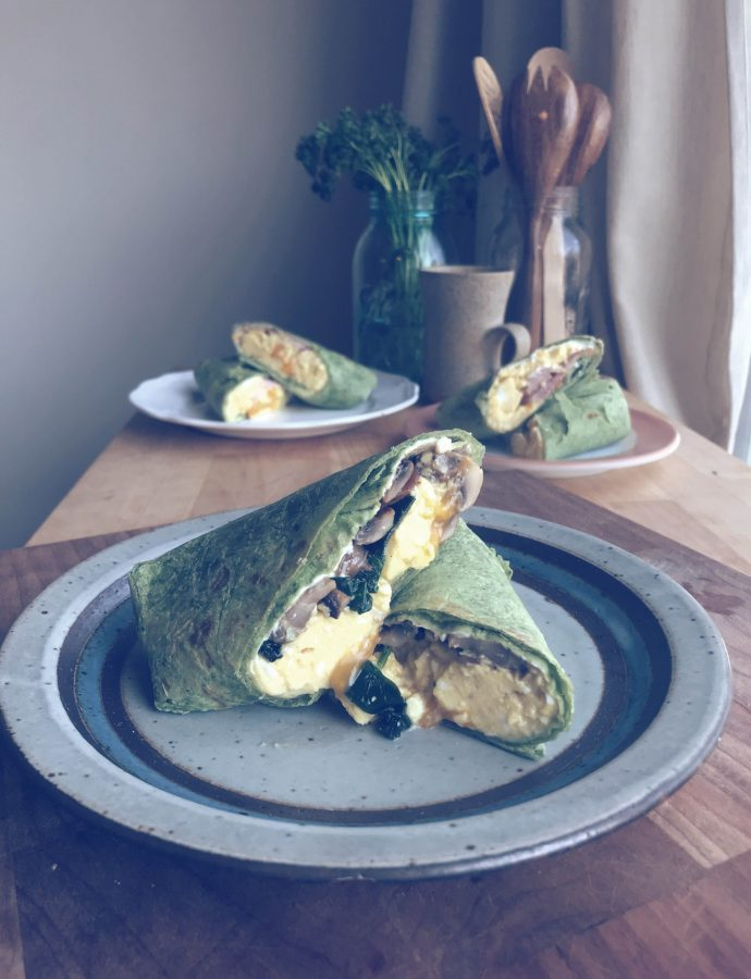 breakfast wraps | make ahead & freezer friendly