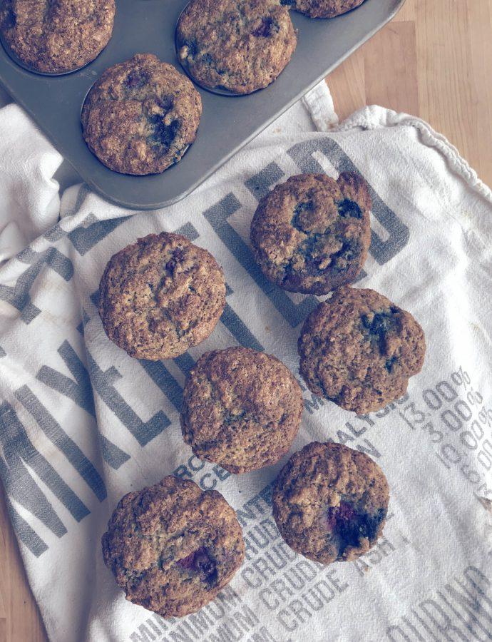 lemon berry muffins | gluten free