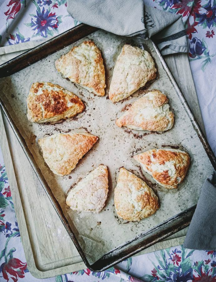 classic homemade scones | plus variations
